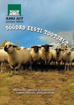 Anu Ait: lammastele